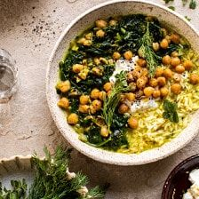 Persian Herb and Chickpea Stew with Rice.Persian Herb and Chickpea Stew with Rice. Veggie Recipes, Whole Food Recipes, Soup Recipes, Vegetarian Recipes, Cooking Recipes, Healthy Recipes, Healthy Soup, Beef Recipes, Easy Cooking
