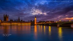 Twilight in London by George Papapostolou on 500px