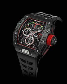 Richard Mille RM 50-03 McLaren F1: World's Lightest Split-Seconds Tourbillon Chronograph