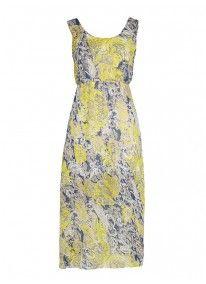Floral Midi Dress Multi-colour