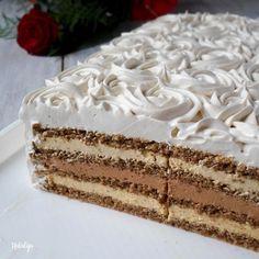Torte Recepti, Kolaci I Torte, Bulgarian Recipes, Croatian Recipes, Polish Desserts, Just Desserts, Baking Recipes, Cookie Recipes, Dessert Recipes
