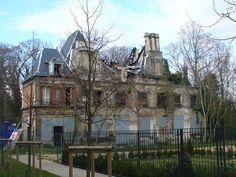 Romainville le chateau delabree