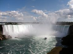 Niagara Falls, Canada - been here...make sure to go over to Niagara-on-the-Lake if you go! Lots of great wineries!