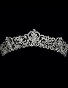 This is one of my favorite tiaras so far - it just looks so royal