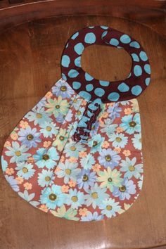 Polka Dot Fun Baby Bib $7.50