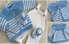DANTELLİ PEMBİŞ BEBE ÇORAP ÖRME VİDEOLU | Nazarca.com Crochet Dinosaur Patterns, Baby Knitting Patterns, Baby Cardigan, Baby Boys, Free Pattern, Stitch, Sweaters, Color, Fashion