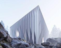 Concept / 199 on Behance Parametric Architecture, Study Architecture, Futuristic Architecture, Landscape Architecture, Modern Architects, Zaha Hadid Architects, Counter Design, Bathroom Design Luxury, Urban Furniture