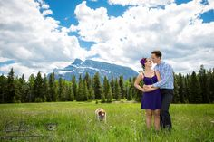 Banff engagement, lifestyle portraits,Outdoor portrait, banff engagement photographer, couple portraits, Banff E-Session, Engagement photos with dogs, couple portraits with dogs, www.kimpayantphotography.com