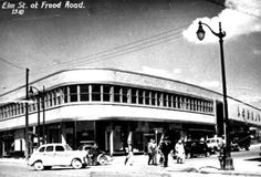 1950 Elm & Frood, Sudbury ON Loblaws Sudbury Canada, Manitoulin Island, Back In The Day, Ontario, Britain, Street View, Memories, City, Places