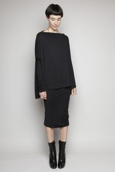 Basics: Rick Owens Lilies - Narrow Pencil Skirt