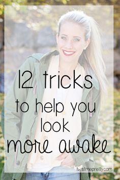 12 Tricks To Help You Look More Awake