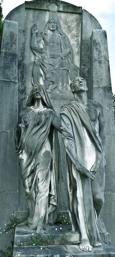 Higinio de Basterra. Spain. Sculpture at the Derio cemetery. One of the most beautiful I've ever seen....