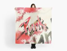 PUNK ✿ Scarf by Steffen Remter ©2016 ✿ Worldwide shipping available at http://www.redbubble.com/people/balticlapse ▄▄ #tshirt #leggings #skirt #skarf #mobile #iphone #iPad #ipod #laptop #duvet #case #cover #skin #mug #rug #curtain #pouch #clutch #notebook