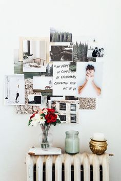 Mood boards offer inspiration and a road-map to your creativity. They can be seen in studios and workspaces, and all over the home!