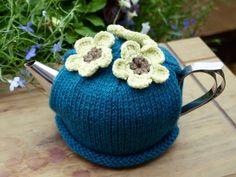 Flower Tea Cosy Teal £15.00