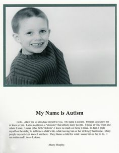 My Name is Autism