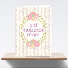 Eid Greeting Card - For Mom