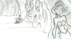 Ariel's beginning concept art