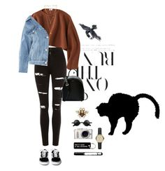 """""""03:18"""" by dre4mland on Polyvore featuring Uniqlo, Topshop, DKNY, PL8, Various Projects, Gucci, Burberry and Rebecca Minkoff"""