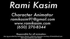 Rami Kasim's Demo Reel 2016