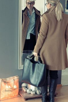 Ready to face the winter in a camel coat #ootd  http://skiglari-norppa.blogspot.com