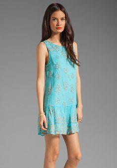 Twelfth Street By Cynthia Vincent Bursa Dress. Love the drop waist