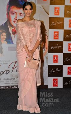 Sonam Kapoor In Head-To-Toe Pink Pastels Is Something To See! - MissMalini