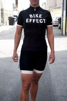 Bike Effect Women's Jersey, Black