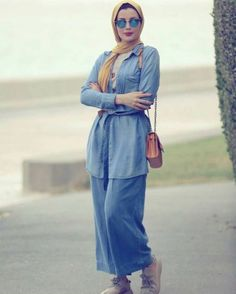 Comfy casual hijab outfits – Just Trendy Girls