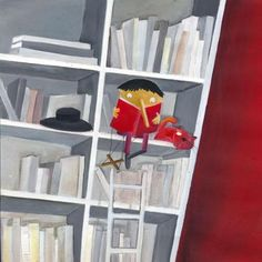 Stop being puppet: read! Does too Pinocchio / Deja de ser títere: lee! Pinocho también lo hace (ilustración de Cecilia Rébora)