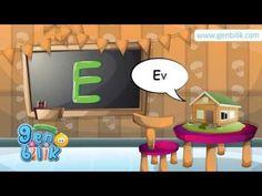 Türkçe Alfabe'deki sesli harfleri nesnelerle öğreniyoruz. Birinci ders.