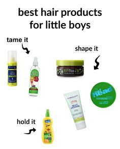 Best Hair Products for Little Boys + tips on taming morning bed head | Boys Ahoy