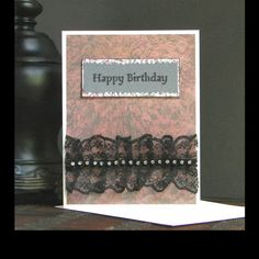 Items similar to Creepy cute Gothic birthday card with black lace accent Victorian greeting card Victorian birthday card Dark birthday card on Etsy Cute Birthday Cards, Birthday Wishes, Happy Birthday Gothic, Message Card, Creepy Cute, Greeting Cards Handmade, Victorian, Handmade Gifts, Lace