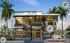 Indian Architect House Designs   50+ Double Story House Pictures Online