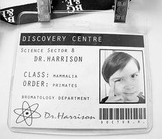 science badge