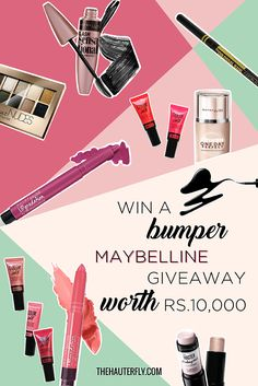 Win A Bumper Maybelline Giveaway Worth Rs 10,000!