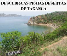 Como chegar nas praias desertas de Taganga?