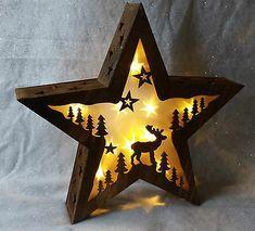 Outdoor Reindeer Christmas Decorations, Christmas Reindeer Lights, Decorating With Christmas Lights, Star Decorations, Inflatable Christmas Tree, Christmas Scenes, Christmas Stars, Autumn Theme, 3 D