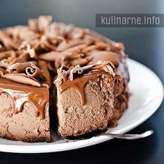Porady i sprawdzone przepisy kulinarne Oli :) Baklava Cheesecake, Chocolate Cheesecake, Polish Desserts, Cheesecakes, Muffin, Cooking Recipes, Pudding, Yummy Food, Favorite Recipes