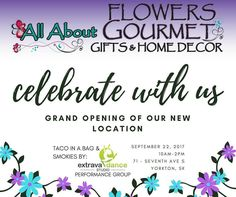 FRIDAY lunch plans @allaboutflowersyorkton  come out and see Steph's new store and also support our dance kiddos bring your friends too! Going to be a great lunch #tacoinabag #smokies #grandopening #fundraiser #flowershop #yorkton #lunch