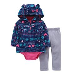 Short and Long Sleeve Simple Joys by Carters 6-Piece Bodysuits and Pants Set Infant-and-Toddler-Pants-Clothing-Sets Unisex beb/é