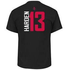 c9c930502014 NBA Short-Sleeve Vertical Name Number Tee - James Harden  13 - 8616767. Houston  Rockets ShirtJames ...