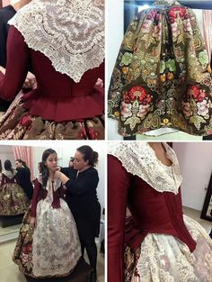 Influenced by century European fashion. Edwardian Fashion, European Fashion, Vintage Fashion, Renaissance Clothing, Historical Clothing, Country Costumes, Period Outfit, Festival Wear, Cool Costumes