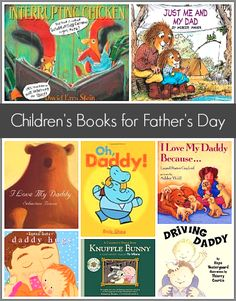 Children's Book List: Picture books perfect for Father's Day!~ Buggy and Buddy Toddler Books, Childrens Books, Kid Books, Toddler Class, Father's Day Activities, Daddy Day, Preschool Books, Fathers Day Crafts, Early Literacy