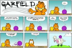 Garfield & Friends | The Garfield Daily Comic Strip for December 01st, 2013