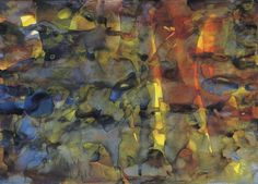 Untitled (21.4.88), Gerhard Richter, 1988, watercolor on paper