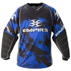 Empire 2012 TW Prevail Paintball Jersey Blue - 2XL by Empire. $41.95. Description Aggressively designed, stylishly appointed and packed with features, the Empire Prevail TW paintball jersey stands apart from other paintball jerseys. Light and comfortable, the Prevail TW jersey features plenty of mesh ventilation to keep the wearer cool, while soft comfortable cuffs and collar and integrated elbow pads add a layer of protection during rough play. Features Mesh side pan...