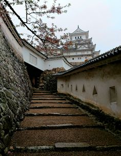 Rainy day at Himeji Castle. Places To Travel, Places To Visit, Japanese Buildings, Himeji Castle, Japanese Castle, Japan Architecture, Hyogo, Japan Photo, Kaiser