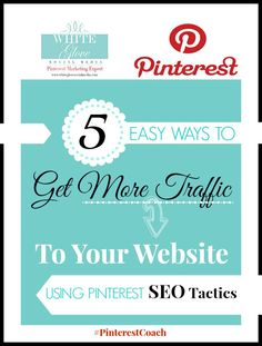 Do you want your Pinterest page and/or web page to come up on the first page of the search organic results? CLICK here to find out http://www.whiteglovesocialmedia.com/pinterest-expert-5-ways-to-increase-traffic/ ✭ #PinterestExpert Anna Bennett ✭ #PinterestMFB