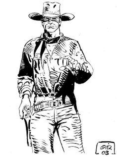 comics bonelli en españa: Jean Giraud